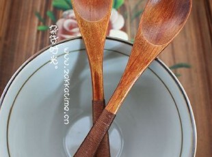 SC07杂货时光 zakka 绕线 木勺 小勺,勺筷,