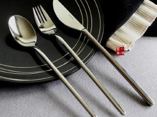 德国名品西餐餐具18-10不锈钢刀叉勺主餐三件套装,勺筷,
