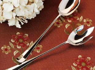 外贸出口 素银宫殿 包银银器餐具 分餐勺 分餐叉 限量版 新品九折,勺筷,
