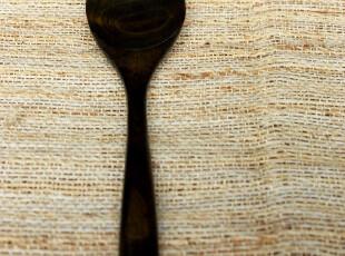 小北家SC26 天然环保 长柄 实木勺子 黑木勺 拌饭勺 大饭勺 ZAKKA,勺筷,