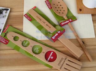 Lasion 出口原单 正品原装 进口榉木  厨房三件组 单个卖,勺筷,