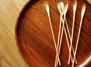 【icatlife】木器 蝌蚪 搅拌勺 一只价,勺筷,