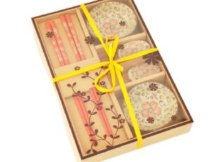 didalife 良辰美景双人情侣餐具筷子礼盒 结婚乔迁生日礼物,勺筷,