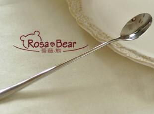 优质不锈钢长柄冰品勺 西餐餐具 不锈钢餐具 外贸,勺筷,