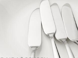 Sambonet意大利 简洁悠长手柄 黄油刀 果酱刀 鱼刀,勺筷,