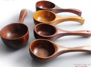 热卖 日本料理 厨具厨房 日式米勺 木汤勺 木制酒勺 三国木勺子,勺筷,
