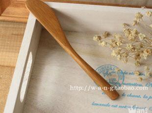 WANG ZAKKA 竹制 牛油刀,勺筷,