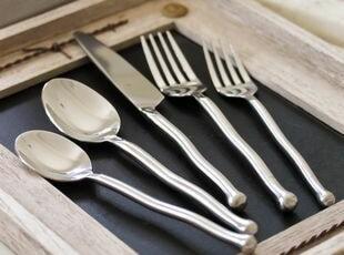 """原单:加拿大名品GS""""银波""""系列(共7件) 出口 西餐餐具,勺筷,"""