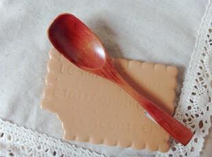 zakka 出口日单楠木甜品勺 楠木咖啡勺 木质冰淇淋勺 日式木质勺,勺筷,