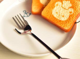 特价 出口韩国 超可爱爱心手柄 不锈钢水果叉|叉子,勺筷,