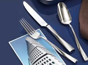 意大利顶级设计/扭曲柄/西餐具刀叉勺三件套/精美绝伦/收藏之品,勺筷,