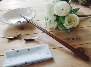 三皇冠 檀木加长版家庭实用煎炸筷子火锅筷子40cm长筷 油再不溅手,勺筷,
