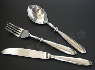 德国单立人订单尾货 不锈钢勺叉刀 西餐套装 餐叉餐刀西餐具280g,勺筷,