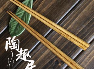 传统日式和风原木三角形筷子  出口日本原单尾单,勺筷,
