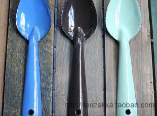 FEN ZAKKA 杂货 搪瓷小勺 汤匙,勺筷,