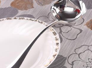 欧美原单 厨具精品 素银宫殿 汤勺 包银 勺子 喜宴送礼 装饰器皿,勺筷,