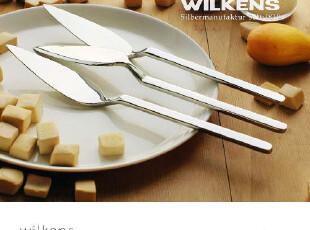 wilkens/牛油刀/黄油刀/鱼刀/果酱刀/外贸出口德国/厚重方柄/推荐,勺筷,
