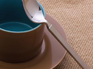 意大利ALESSI 不锈钢西餐具*甜品勺*咖啡勺*茶勺* --6只,勺筷,