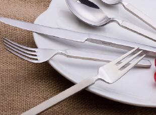 意大利ALESSI 外贸原单不锈钢西餐具*牛排餐具*刀叉勺套装*5件套,勺筷,