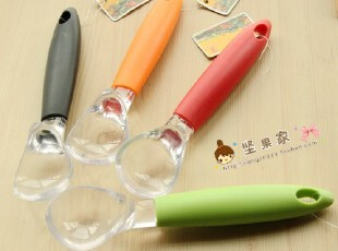 亚克力冰激凌勺 多彩时尚 多色可选 冰淇淋勺,勺筷,