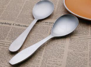 特惠 超好品质!简约设计 磨砂不锈钢 盛米饭勺子 大分餐勺 饭勺,勺筷,