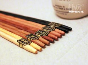 朴房° Zakka 素品°日式原木五色筷,勺筷,