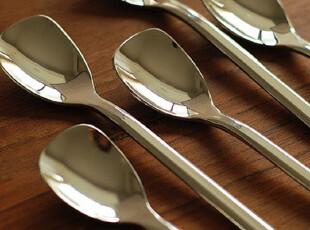 出口原单 德国大牌不锈钢餐具 骑士精神系列雪糕勺 甜品勺 咖啡勺,勺筷,