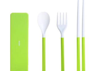 a-life最生活 餐具 勺子 叉子筷子环保折叠旅行套装 B-1213,勺筷,