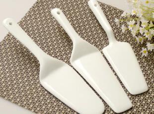 友联瓷行 出口外贸陶瓷餐具 陶瓷烘焙用具 蛋糕铲 披萨铲 糕点铲,勺筷,
