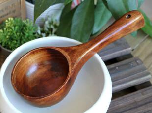 千度悠品  zakka 日式和风 酸枣木 大汤勺 水瓢 米勺,勺筷,