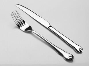 【酣畅】超值精品西餐用具 牛排刀叉一套 高档不锈钢餐具,勺筷,