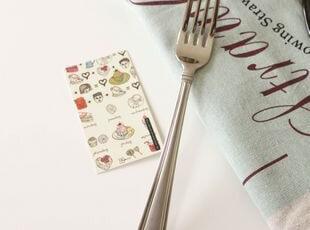 Reed&Barton 18/10优质不锈钢磨砂手柄餐叉 出口 西餐餐具,勺筷,
