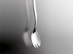 HOME LIKE 不锈钢餐具出口德国大牌ZEN沙律叉|沙拉勺,勺筷,