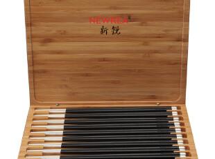 NEWREA乌木双头纯银包银筷子/奢侈餐具/店庆特惠尊享/WMCYS,勺筷,