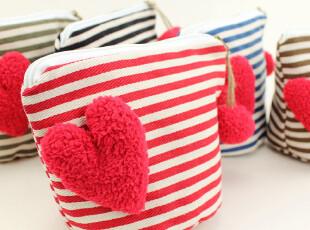 可爱多化妆袋 三色补丁原创帆布包化妆包布艺小物收纳袋迷,化妆包,