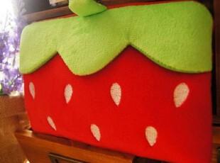 毛绒 卡通 PSP包 笔袋 化妆包 红色大草莓 多款选,化妆包,