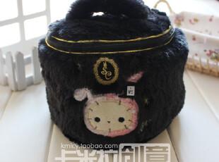 日本忧伤马戏团大容量多功能毛绒收纳包 杂物袋 化妆包 收纳包,化妆包,