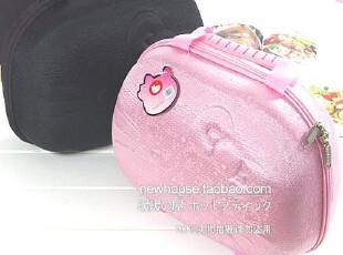 HELLO KITTY 粉色手提化妆箱 旅行化妆包 化妆品收纳包 美容包,化妆包,