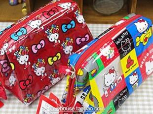 特~同步款HELLO KITTY 防水PVC 化妆袋 化妆包 收纳袋 手包 笔袋,化妆包,