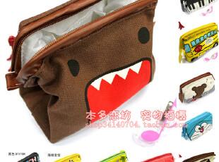 韩国文具 大容量帆布牛仔笔袋 可爱创意简略收纳包 化妆包满包邮,化妆包,
