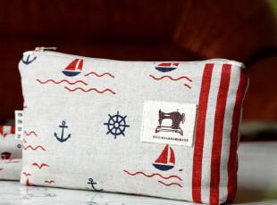 【第2个半价】 韩国可爱大容量布化妆包收纳袋zakka杂货(15色),化妆包,