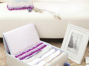 草莓半塘 冰淇淋色蝴蝶结蕾丝 化妆包收纳盒梦幻2件套4531 1.1kg,化妆包,