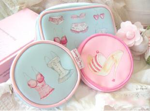『韩国网站代购』女人的可爱小物 甜美糖果派化妆包,化妆包,
