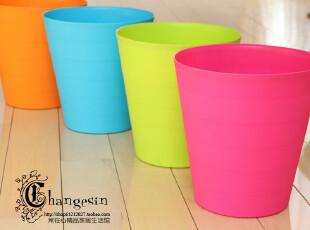 简易型 居家办公垃圾桶 废纸桶 收纳桶 果皮桶 纸篓 竹节大号,浴室储物,