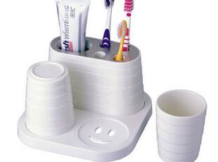 安雅 美耐陶瓷 牙刷架 创意套装 韩国 情侣 牙刷杯 刷牙杯 漱口杯,