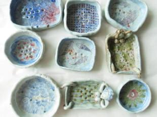 肥皂盒 陶瓷杂货 可爱 手绘 东南亚 创意 可爱,