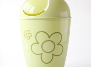 多样屋 TAYOHYA Flora 垃圾桶 绿色,