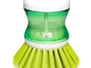 2012厨房必备家用液压刷洗碗刷洗锅刷便利洗锅刷清洁刷颜色随机,