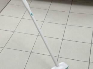日本AISEN 3用长柄浴室清洁刷毛刷 附瓷砖缝隙刷子+毛发夹 地板刷,