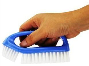 日本AISEN 双刷头洗衣刷 衣鞋刷子 多用途清洁刷 浴缸刷地板刷,